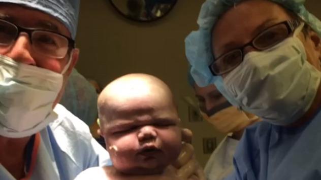 Nagranie z porodówki