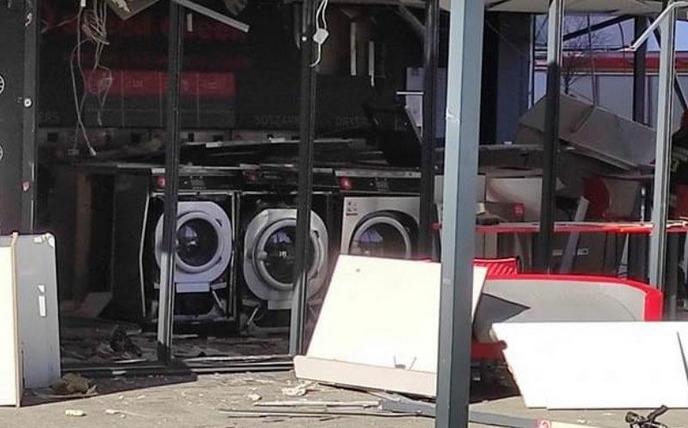wybuch pralni samoobsługowej we wrocławiu