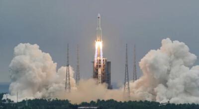 potężna chińska rakieta spadnie