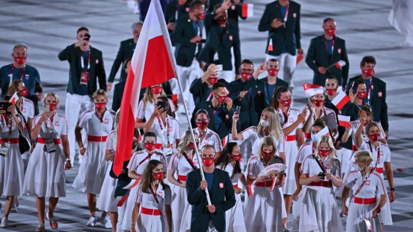 Wpadka Polaków podczas ceremonii otwarcia igrzysk