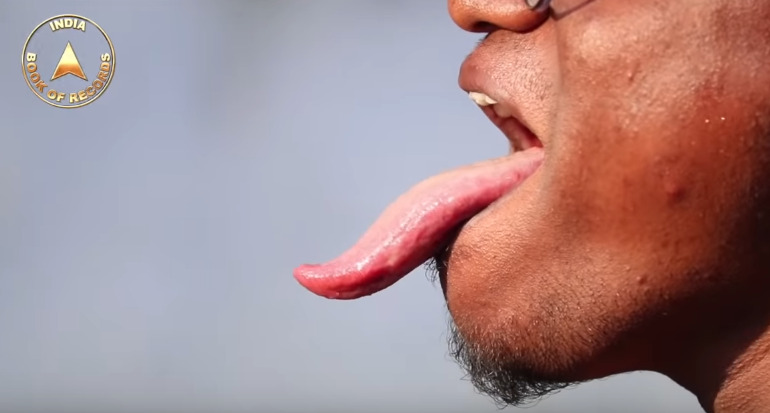 najdłuższy język na świecie