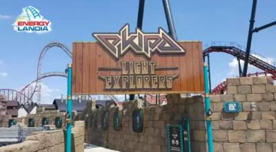 Rollercoaster Ekipy w energylandii
