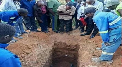 Duchowny z Zambii