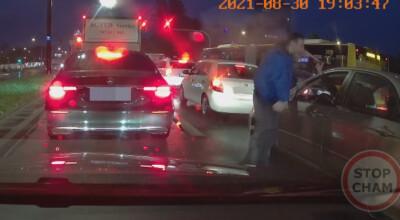 z agresora drogowego