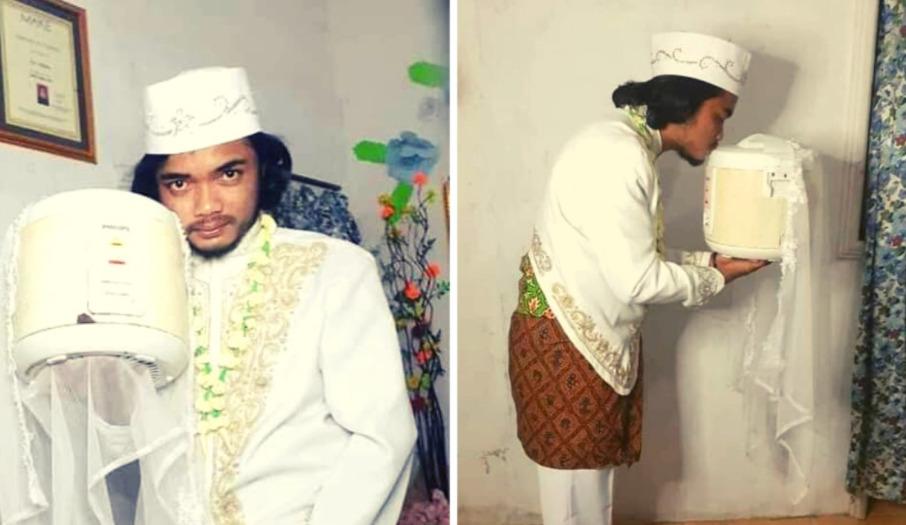 Ślub z garnkiem